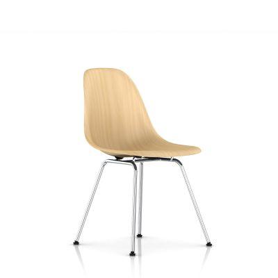Eames 4腿底座模压木壳单椅