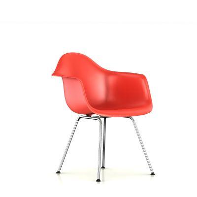 Eames 4腿底座模压塑壳扶手椅