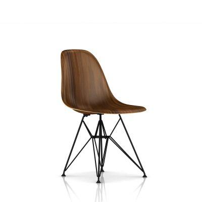 Eames 金属底座模压木壳单椅