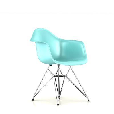 Eames 金属底座模压塑壳扶手椅