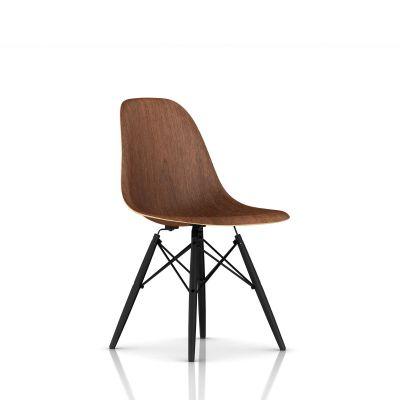 Eames 木质底座模压木壳单椅